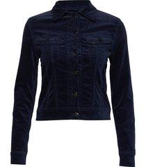 slim rider jeansjack denimjack blauw lee jeans