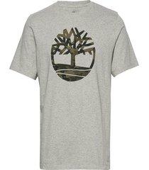 ss k-r camo tree t t-shirts short-sleeved grå timberland