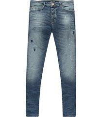 cars heren jeans lengte 34- super skinny damaged look stretch aron -