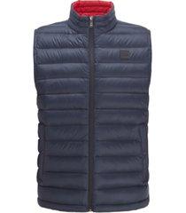 boss men's chroma packable down gilet vest