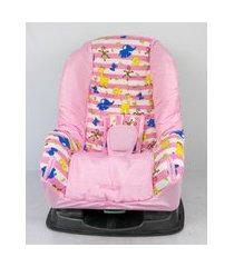 capa para cadeira - safári listra rosa