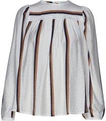 dusty blouse lange mouwen wit munthe