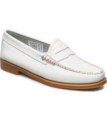gh weejun ii wmn penny loafers låga skor vit g.h. bass