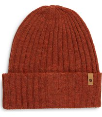 fjallraven thin byron beanie - orange