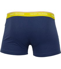 tommy hilfiger short 3-pak essentials blauw multi