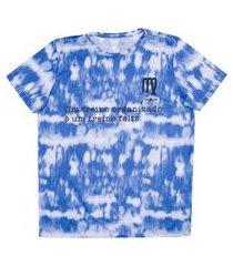 camiseta oxer tie dye virgem + necessaire - feminina