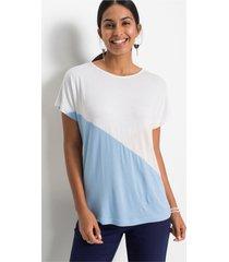 shirt met colourblockings