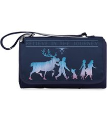 oniva by picnic time disney's frozen 2 outdoor picnic blanket tote