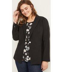 lane bryant women's bryant blazer - sexy stretch 24p black
