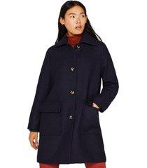 abrigo casual azul esprit