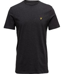 crew neck t-shirt t-shirts short-sleeved svart lyle & scott