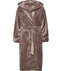 decoy long robe w/hood morgonrock brun decoy