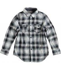 garcia zacht stevig overhemd grey khaki