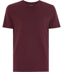 mens red dark burgundy slim t-shirt