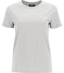a.p.c. item 001 t-shirt with logo print