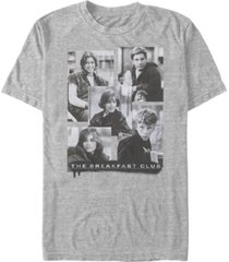 the breakfast club men's character photos short sleeve t-shirt