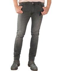 jean hombre gris medio s5689