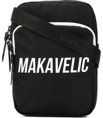 makavelic cross-tie pouch bag - black