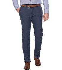 campbell pantalon blauw