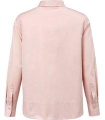 blouse met klein, modieus kraagje van day.like lichtroze