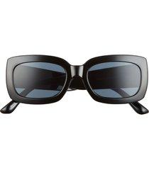 bp. rectangular sunglasses in black at nordstrom