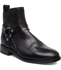 fay mid zip boot shoes boots ankle boots ankle boots flat heel svart gant