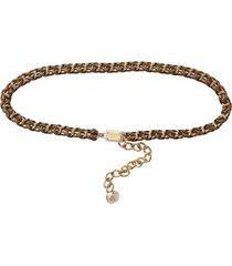 walnut chain belt