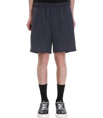 low brand t4.48 shorts in grey wool