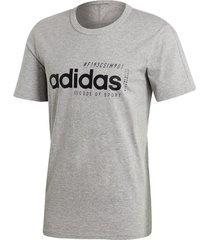 t-shirt korte mouw adidas brilliant basics t-shirt