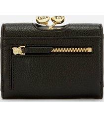 ted baker women's alyesha teardrop crystal mini bobble purse - black