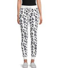 for the republic women's leopard-print pants - snow leopard - size l
