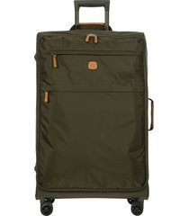 bric's x-bag 30-inch spinner suitcase - green