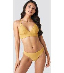 na-kd swimwear bikiniunderdel - yellow