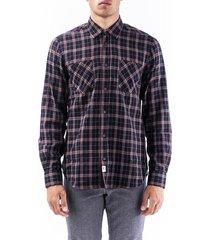 cotton trussardi jeans shirt