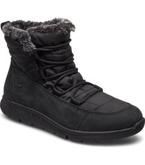 boltero winter bt blk shoes boots ankle boots ankle boots flat heel svart timberland