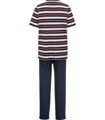 pyjamas g gregory marinblå/vit/röd
