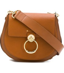 chloé saddle handbag - neutrals