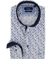 giordano overhemd multicolor print