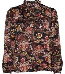 cardi blouse blouse lange mouwen multi/patroon minus