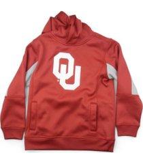 outerstuff oklahoma sooners men's team pride performance hooded sweatshirt