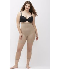lane bryant women's spanx higher power capri g nude