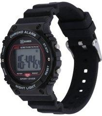 relógio digital x games xkppd065 - masculino - preto