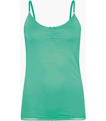 muchachomalo ladies tryangle top solid
