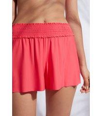 calzedonia lasercut shorts woman pink size m