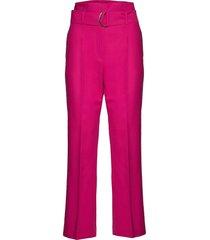 candore pantalon met rechte pijpen roze max&co.