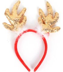 christmas decoration sequins antler headband