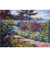 """david lloyd glover carmel by the sea canvas art - 37"""" x 49"""""""