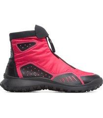 camper lab crclr, sneaker uomo, rosa/nero, misura 46 (eu), k300272-003
