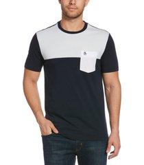 original penguin men's colorblocked t-shirt