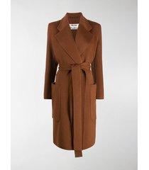 acne studios belted coat